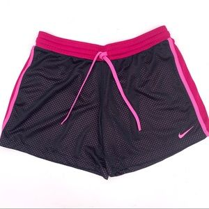 Nike Dri-Fit Mesh Athletic Active Wear Shorts
